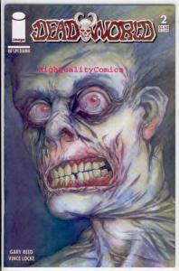 DEAD WORLD #2, NM, Vince Locke, 2005, Zombies, Undead, more Horror in store