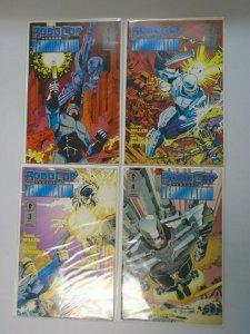 RoboCop Versus The Terminator Set #1-4 Average 8.5 VF+ (1992)
