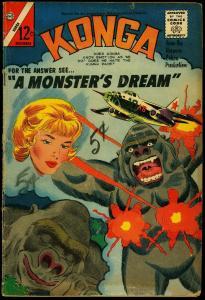 Konga #20 1964- Charlton Comics- Silver Age VG