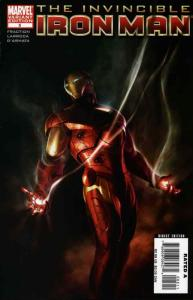 Invincible Iron Man #5A VF/NM; Marvel   save on shipping - details inside
