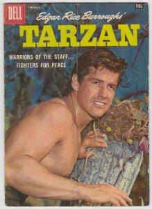 Tarzan #101 (Feb 1958) GD Dell