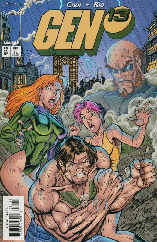 Gen13 #22 VF/NM; Image | save on shipping - details inside