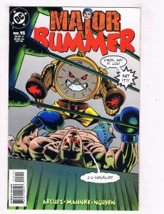 Major Bummer #15 VG/FN DC Comics Comic Book Arcudi Oct 1998 DE39 AD12