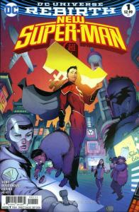 New Super-Man #1 VF/NM; DC   save on shipping - details inside