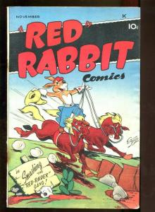 RED RABBIT COMICS #13 1949-GOLDEN AGE FN/VF