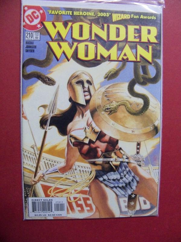 WONDER WOMAN #210 HIGH GRADE BOOK (9.0 to 9.4) OR BETTER