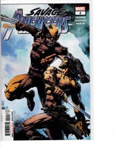 Savage Avengers (2019) #2 NM (9.4)