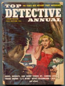 Top Detective Annual Pulp 1953- Fredric Brown- G/VG