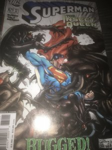 DC Superman #671 Mint The Insect Queen