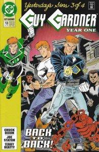Guy Gardner #13 VF/NM; DC   save on shipping - details inside