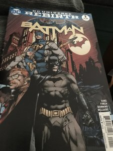 DC Rebirth Batman #1 Mint