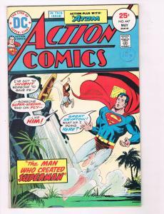 Action Comics #447 FN DC Comics Comic Book Superman May 1974 DE29