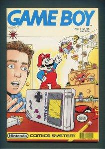 Game Boy #1  / 8.0 VFN  /  1990