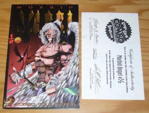 Morbid Angel #½ VF- combo gold edition with COA half 1/2 signed by hartsoe