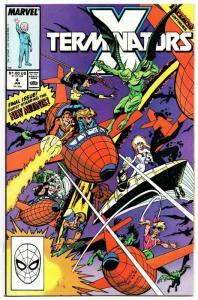 X-Terminators #4 New Mutants / Inferno (Marvel, 1989) NM-