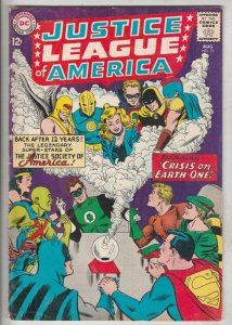 Justice League of America #21 (Aug-63) FN/VF Mid-High-Grade Justice League of...