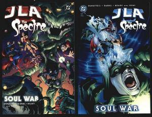 JLA SPECTRE SOUL WAR 1-2(11.90 cover)complete