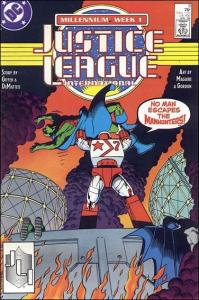 DC JUSTICE LEAGUE INTERNATIONAL (1987 Series) #9 VF