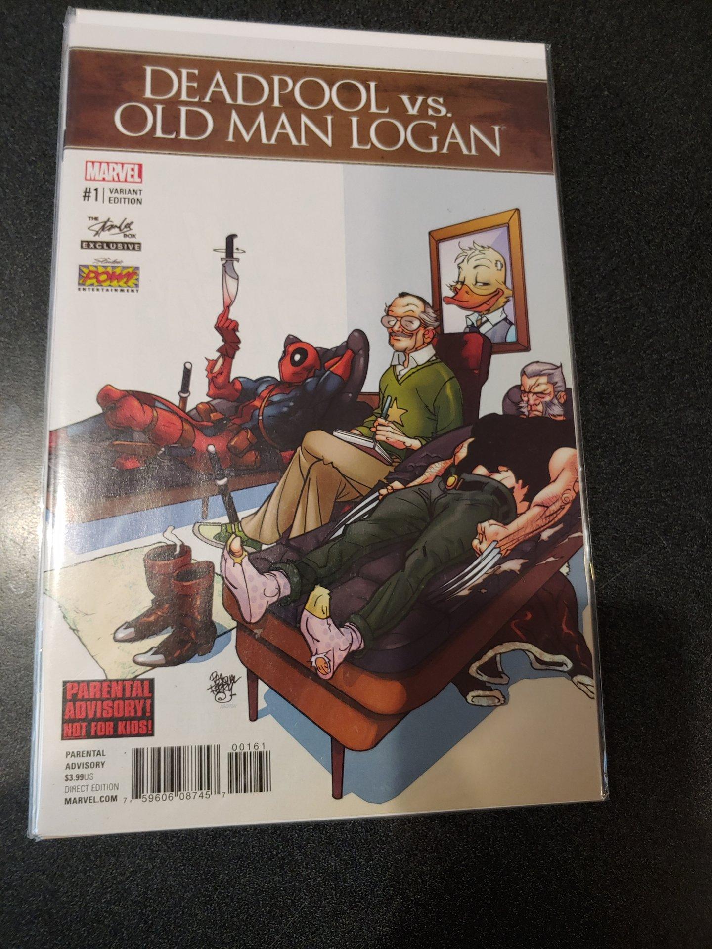 DEADPOOL VS OLD MAN LOGAN #1 NM 1ST PRINT
