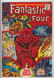 Fantastic Four #77 (Aug-68) FN/VF Mid-High-Grade Fantastic Four, Mr. Fantasti...
