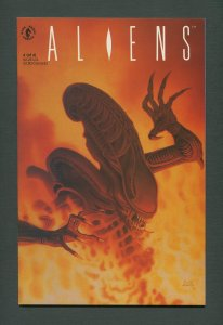 Aliens #4  /  9.4 NM  / 2nd Series  May 1990