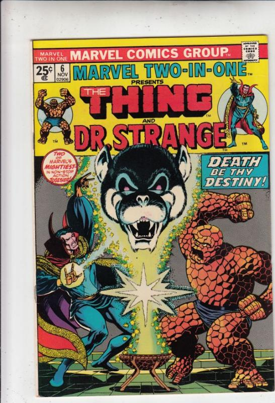 Marvel Two-In-One #6 (Nov-74) NM/NM- High-Grade The Thing