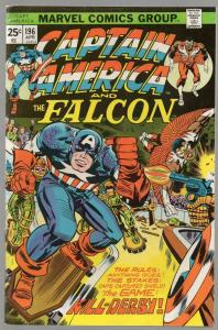 CAPTAIN AMERICA 196 VG April 1976 Kirby classics