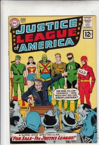 Justice League of America #8 (Jan-62) FN/VF- Mid-High-Grade Justice League of...
