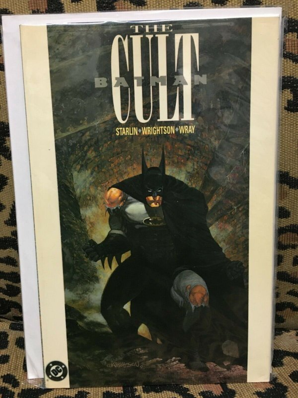 Batman: The Cult (1991, DC) 1st Printing, TPB, VG+ Condition OOP Never Read