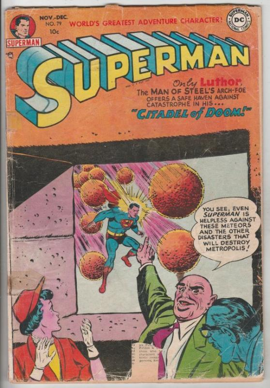 Superman #79 (Nov-52) GD Affordable-Grade Superman