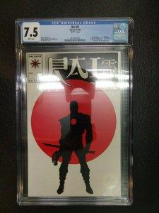 Rai #0 Graded CGC 7.5 Valiant Comics 1st Full Bloodshot Appearance & 1st New Rai