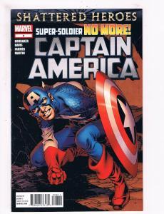 Captain America # 8 NM 1st Print Marvel Comic Book Winter Soldier Avengers S60