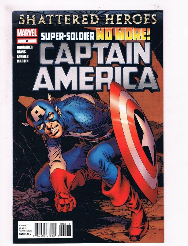 Captain America # 8 NM 1st Print Marvel Comic Book Winter