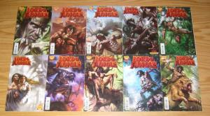 Lord of the Jungle #1-15 VF/NM complete series + annual - lucio parrillo covers