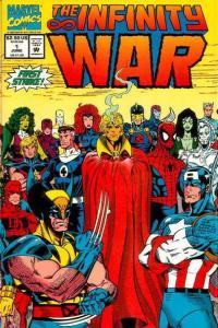 Infinity War #1, NM (Stock photo)