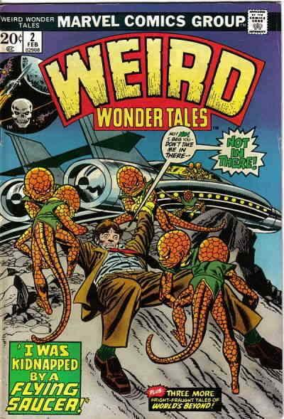 Weird Wonder Tales #2 VG; Marvel | low grade comic - save on shipping - details