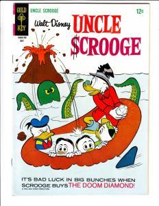 Uncle Scrooge, Walt Disney #70 (Jul-67) VF High-Grade Uncle Scrooge