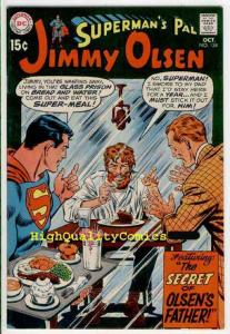 SUPERMAN'S PAL JIMMY OLSEN #124, Lost Dad, VF+ to NM, 1969, more DC in store