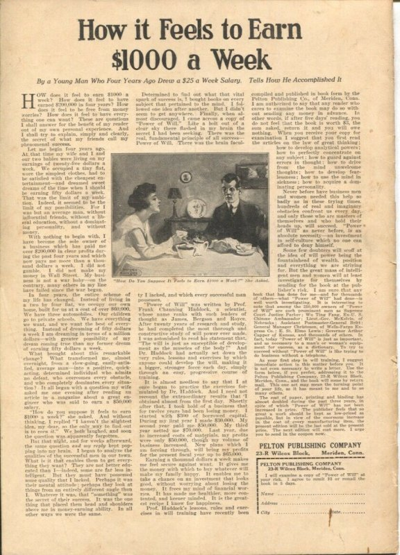 The Independent 8/31/1918-WWI issue-over 100 years old-incorporates Harper's ...