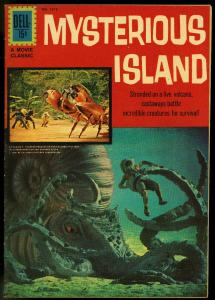 Mysterious Island-Four Color #1213 1961-MOVIE PHOTO COVER FN/VF