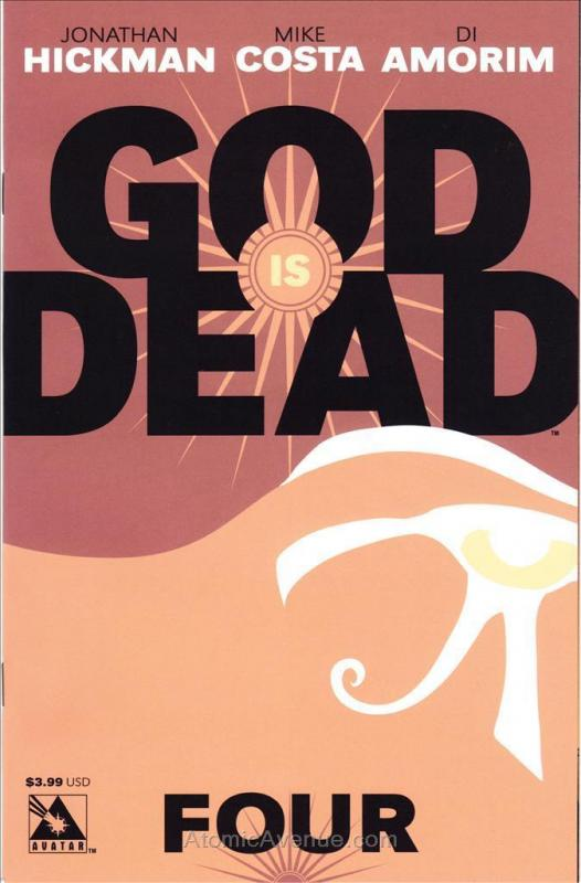 God Is Dead #4 VF/NM; Avatar | save on shipping - details inside