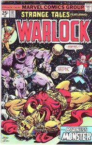 Strange Tales #181 (Aug-75) FN/VF Mid-High-Grade Adam Warlock