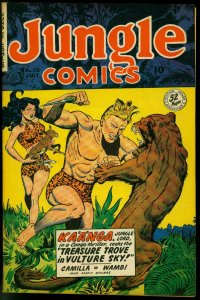 Jungle Comics #115 1949- Fiction House Good Girl Art cover Golden Age VF