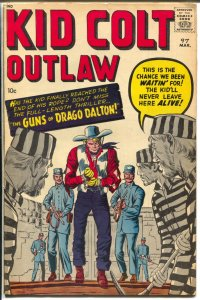Kid Colt Outlaw #97 1961-Marvel Western-Jack Kirby cover- -VG
