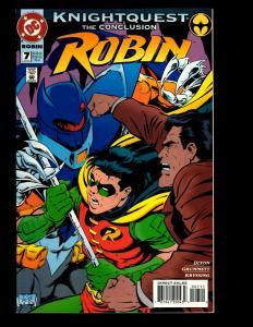 12 DC Comics Robin 7 Robin II 1 2 3 4 Robin III 1 2 3 4 5 6 Robin 3,000 # 2 JF7