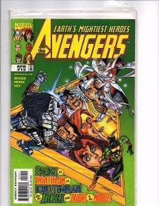 Marvel Comics The Avengers #15 Kurt Busiek Story George Pérez Cover and Art