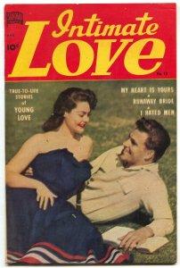 Intimate Love #13 1951-Runaway Bride- I Hated Men FN+