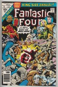 Fantastic Four King-Size Special #13 (Jan-78) VF High-Grade Fantastic Four, M...