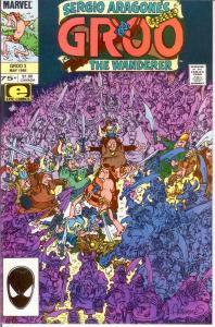 GROO 3 VF-NM May 1985 SERGIO ARAGONES COMICS BOOK