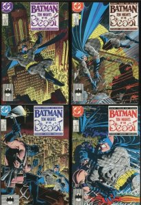 Batman VF 8.5 #417, #418, #419 #420 (1988)